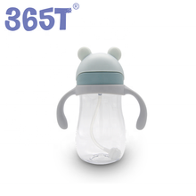 365 T custom nette baby trinken <span class=keywords><strong>flasche</strong></span> sippy <span class=keywords><strong>tasse</strong></span> silikon <span class=keywords><strong>wasser</strong></span> <span class=keywords><strong>stroh</strong></span> zwei griff baby <span class=keywords><strong>tasse</strong></span>