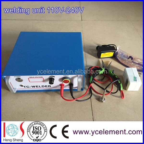 thermocouple welding machine thermocouple welder welding unit 100V-240V