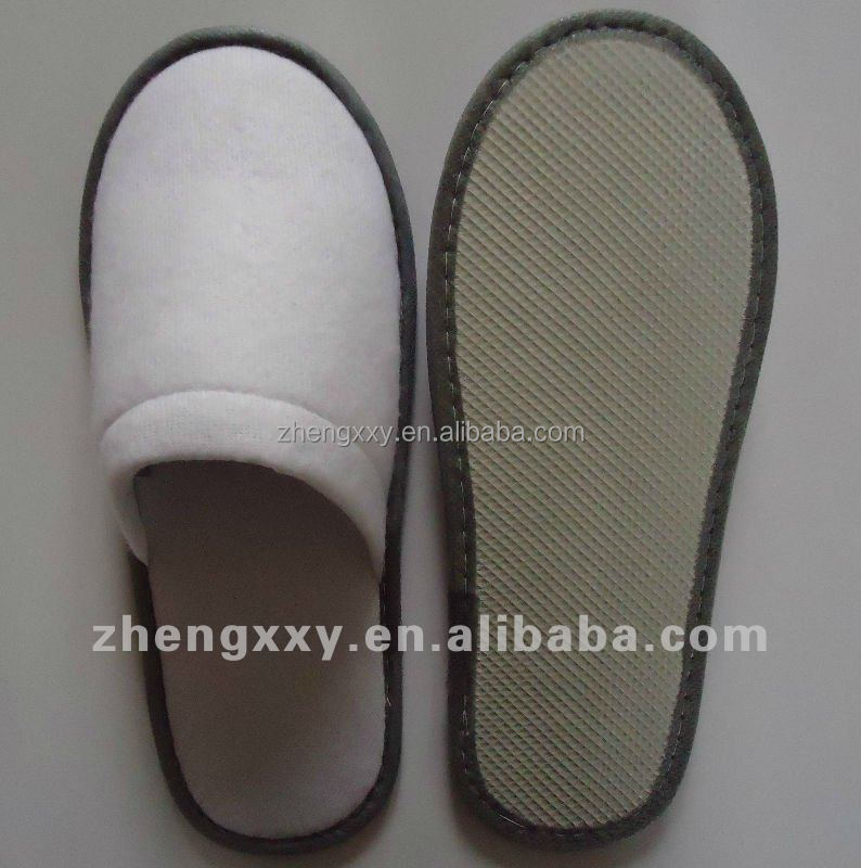 cheap hotel guest EVA Sole disposable slippers for hotel