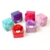 New products small square candy chocolate gift metal tin box with ribbon for birthday party