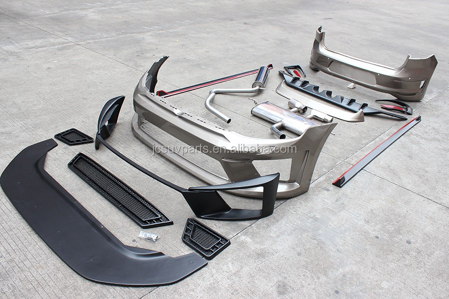 Golf 7 Gti R20 Pu Front Bumper Kit R400 Body Kit For Vw Golf Vii 7