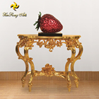 Wholesale hotel furniture classical craft style wooden console table antique side table