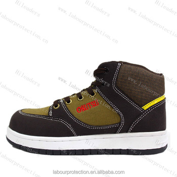 Skateboard Style Safety Shoe With Steel
