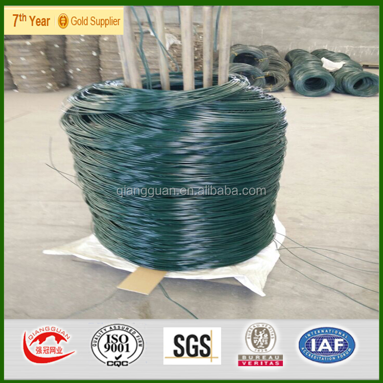 25kg pvc binding wire /Sri Lanka pvc coated tie wire roll