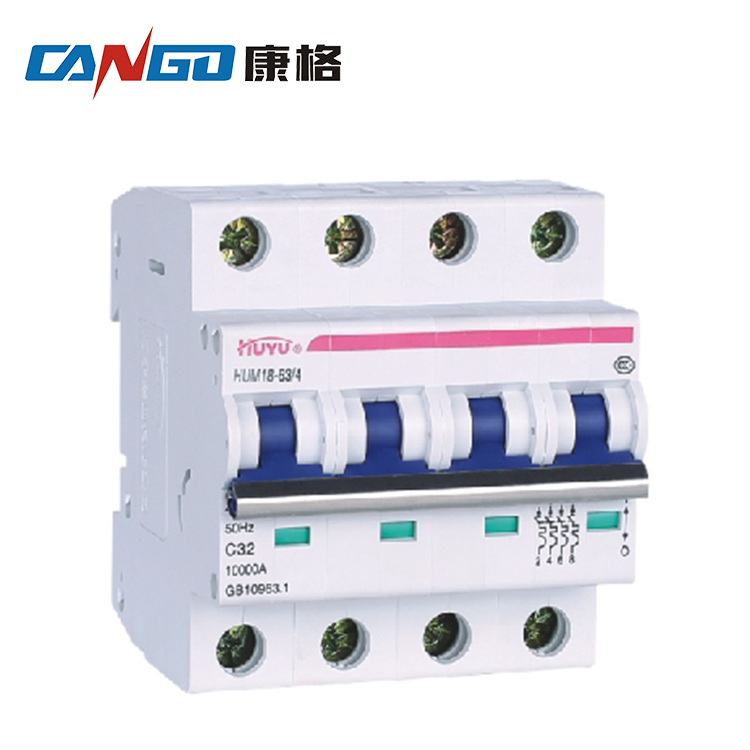4 pole 100a high breaking capacity earth leakage protection mccb elcb