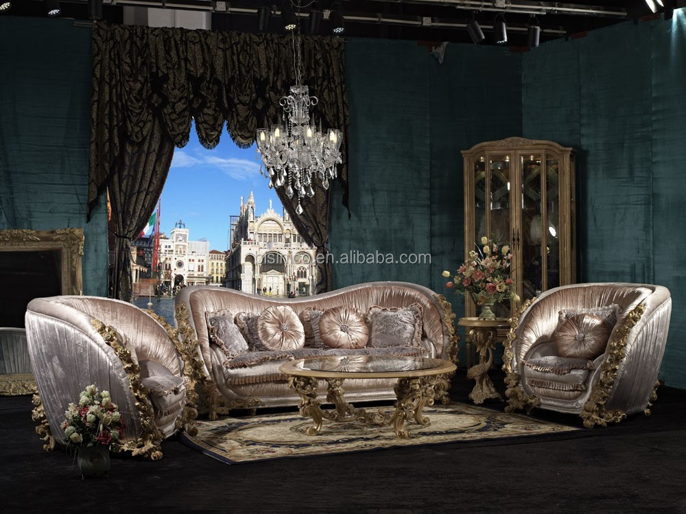 Bisini Luxury European Living Room Sofa Furniture, Italian Luxury Furniture  Sofa Set