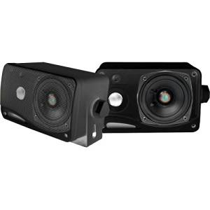 """Pyle Plmr24b 100 W Rms Speaker . 3. Way . Black, Blue . 70 Hz To 21 Khz . 4 Ohm """"Product Type: Speakers/Component Speakers"""""""