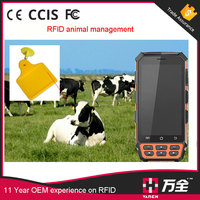 VH-71T waterproof handheld rfid with mobile data terminal android big battery