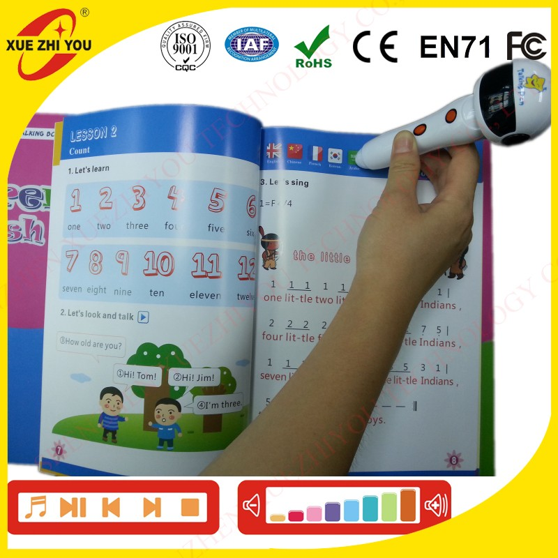Digital Educational <strong>Toys</strong> Kids Reading pen Smart Learning