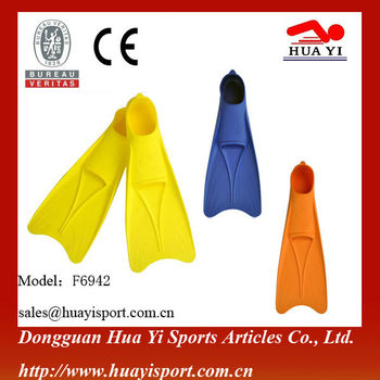 Professional hight quality silicone swimming training cheap diving flippers