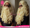 2015 New Father Christmas Party Hot Resistant Synthetic Fake Santa Beard And Wig