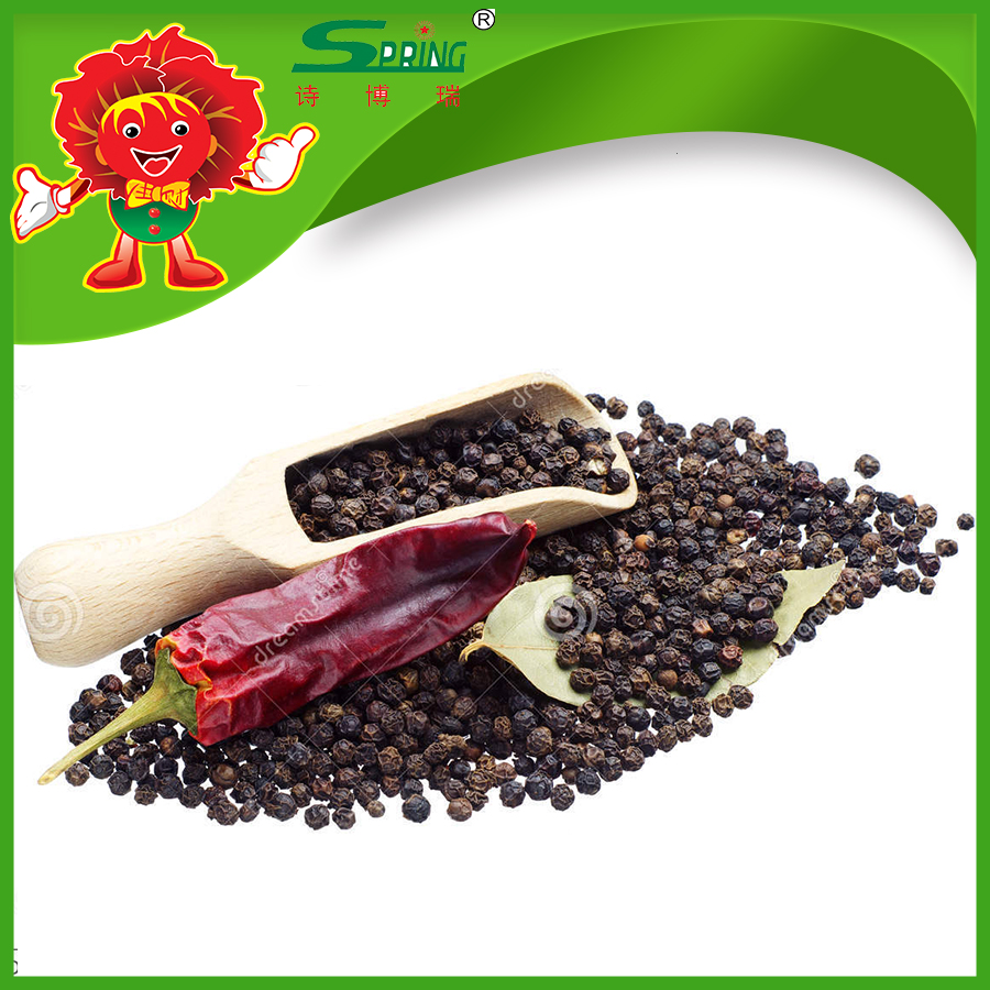 High quality dried black pepper for sale