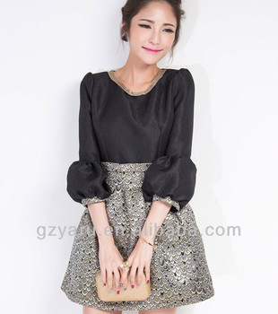 2014 Latest Fashion Dress Designs Teenage Girls