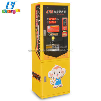 Malaysia Hot Sale Money Exchange Coin Token Vending Game Machine For  Laundry - Buy Change Money To Coin Machine,Change Money To Coin  Machine,Change