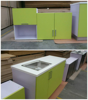 Green Color Diy Modular Kitchen Cabinet Buy Green Color Diy