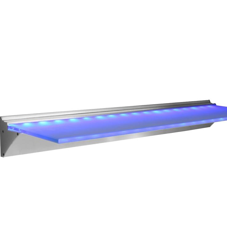 Led Furniture Smd3528 Led Glass Shelf Light Alumnium Led Glass ...