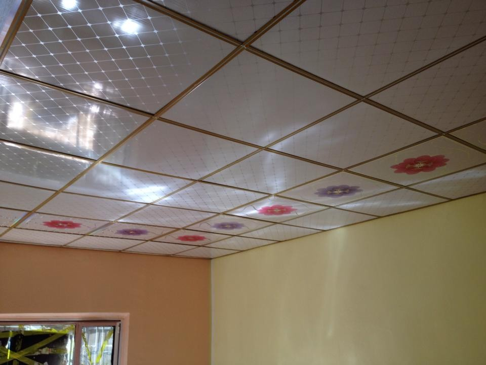 Wet Room Wall Panels >> Pvc Laminated Gypsum Board Platinum White Sparkle 5mm Pvc Wall Cladding Bathroom Kitchen Ceiling ...