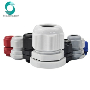Waterproof IP68 Connectors M Series Plastic junction box cable gland