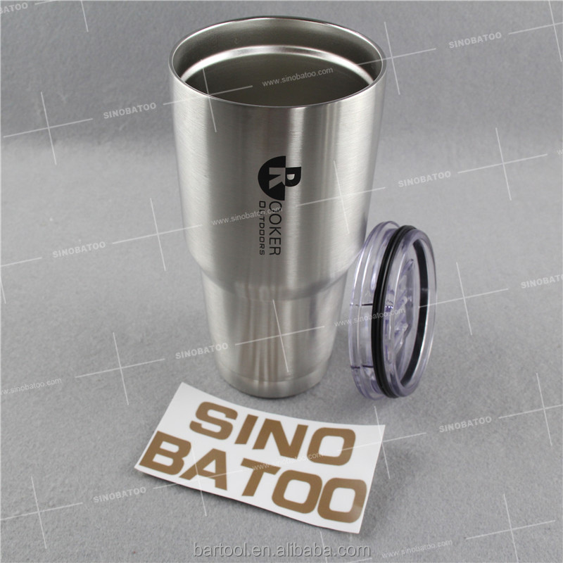 Insulated stainless steel tumbler 30 oz