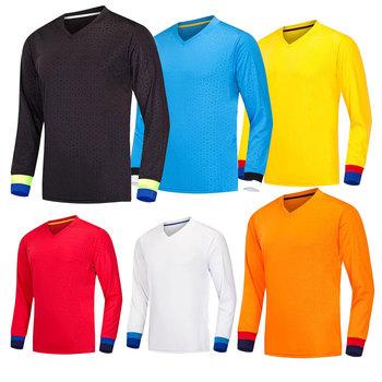 5e1d904fa0 Sublimação barato personalizado espanha manga longa uniformes de futebol  camisa de futebol camisa de