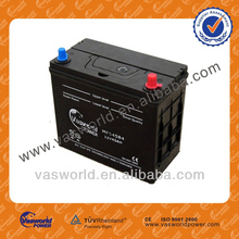 Hot export high quality JIS STD 12V 45AH Maintenance free Automotive Lead acid CAR Battery NS60MF