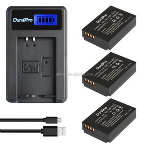 DuraPro LCD USB Digital Charger for Canon LP-E12 LP E12 LPE12 for Canon EOS M M2 100D Kiss X7 Rebel SL1 EOSM EOSM2 EOS100D