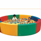 Indoor playground for toddlers soft play round ball pool for children NL-R005