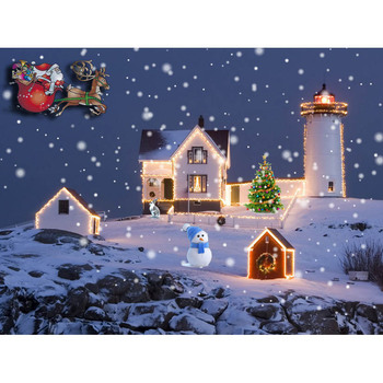 Wholesale Stretched Led Christmas Light Up Canvas Painting Buy