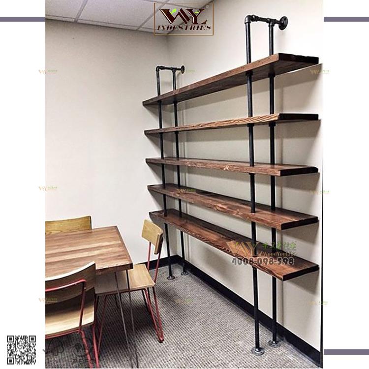 Venta al por mayor estanterias madera y hierro-Compre online los ...