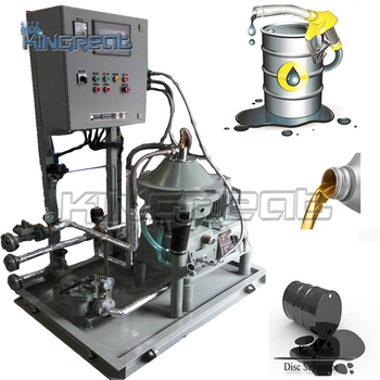 Skid Type 1500l/h Centrifugal Turbine Oil Cleaning Machine - Buy Turbine  Oil Cleaning Machine,Diesel Oil Purifier,Disc Stack Centrifuge Separator