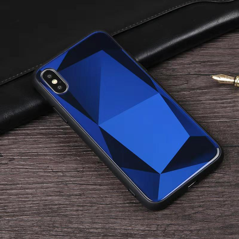 2019 New Design For Iphone 7 6 xs xr <strong>max</strong> plus Phone Case with tempered glass