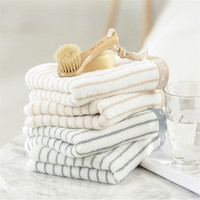 100 Cotton Luxury White 5 Star Hotel Used Bathroom Towels Set