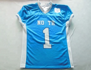 Sublimated Printing American Football Uniforms Cheap Football Jersey Custom American Football Jersey