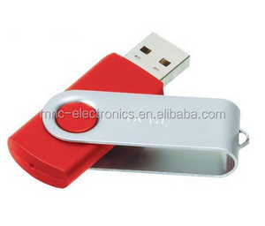 Swivel USB PEN DRIVE, Twister USB 2.0 with Silk printing logo,1GB 2GB 4GB 8GB 16GB 32GB Optional Capacity
