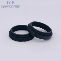 Low price carbon graphite seal rings hp ring high quality