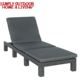 Outdoor Furniture Ajustable Seaside Folding Bed Outdoor Sun Lounger