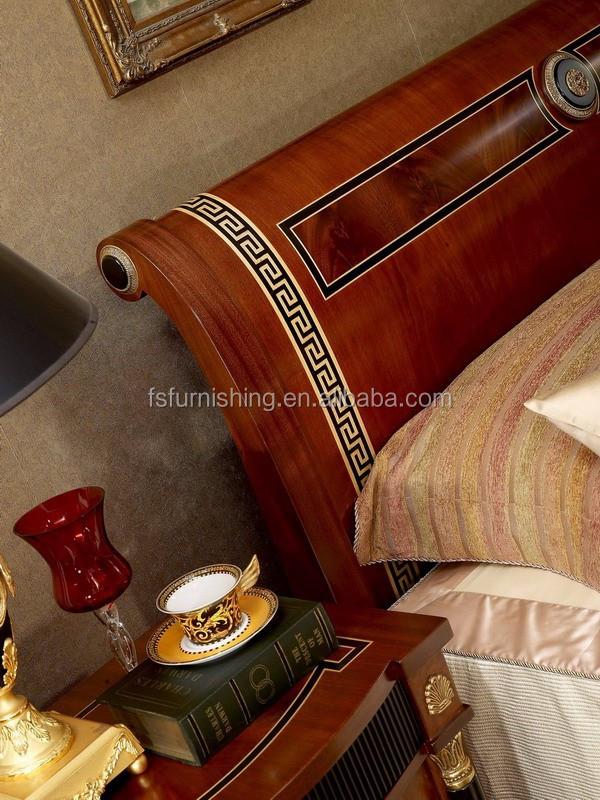 Yb10 Italy Traditional Antique Mahogany King Size Master