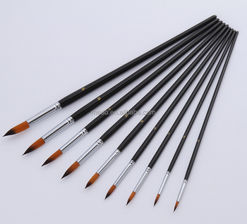 China Fine Art Brushes Round Pointed Tip Oil Painting Artist Brush - Buy  Oil Painting Brush,Pointed Tip Painting Brush,Fine Painting Brush Product  on