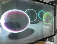 Transparent Holographic Projection Film, Rear Projection 3D Hologram Film ,Window Screen