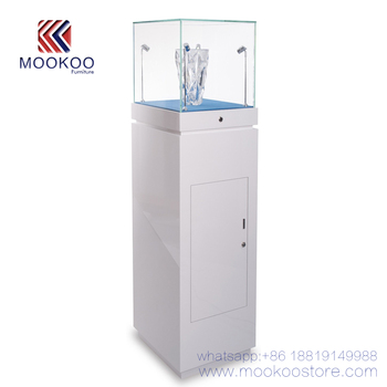 High Quality White Pandora Style Jewelry Display Cabinet To Store