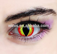 cheap free cosplay crazy contact lenses freshtone halloween cat eye color contacts