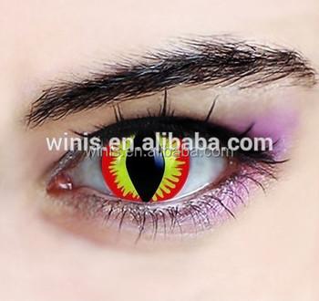 Cheap Free Freshtone Halloween Cat Eye Color Contacts Buy Cat Eye