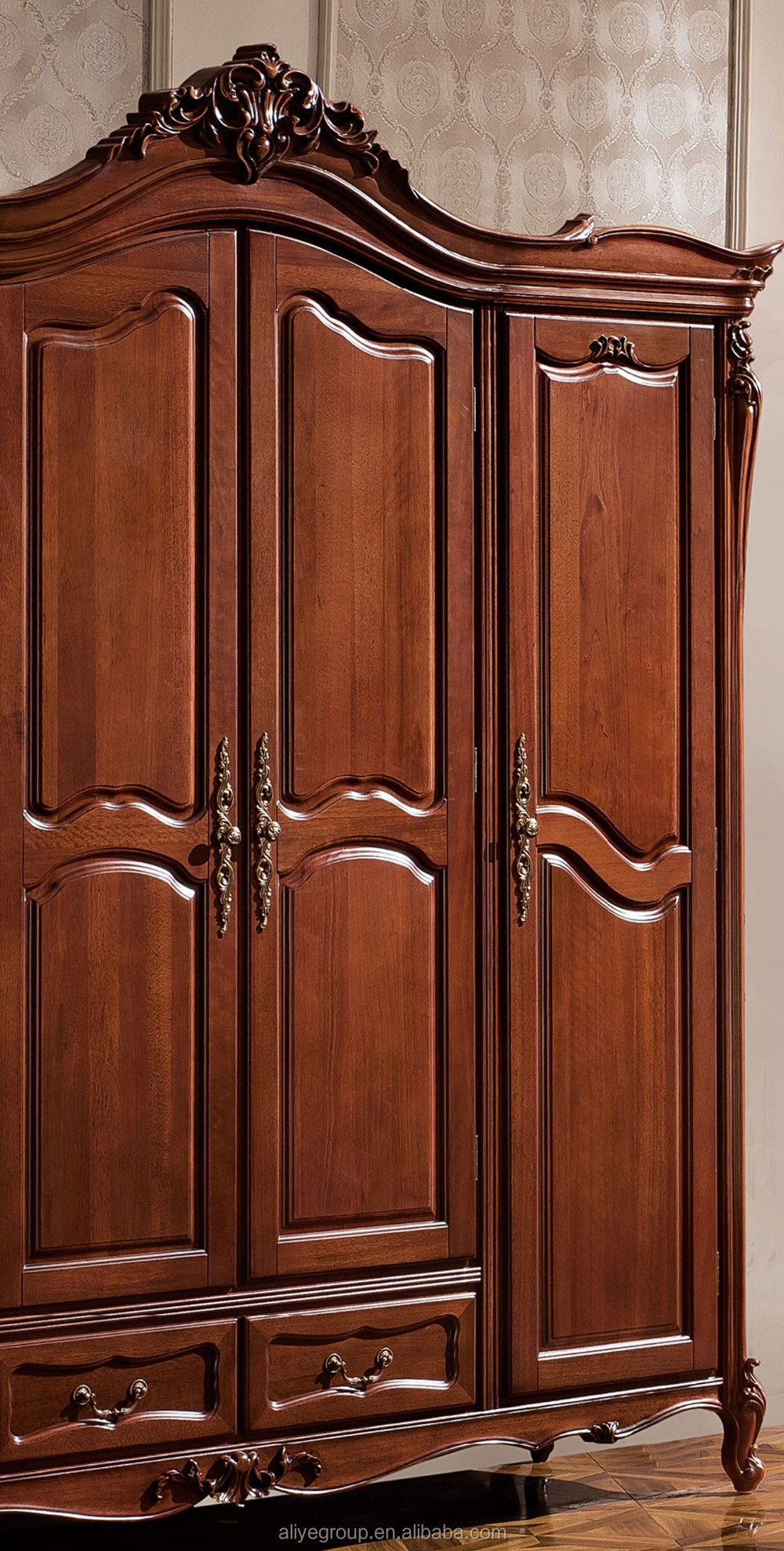Tyzw881-1- Fancy Wood Carving Bedroom Furniture Set Luxury ...