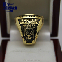 China supplier high quality custom national boxing championship ring , men's nfl replica super bowl rings