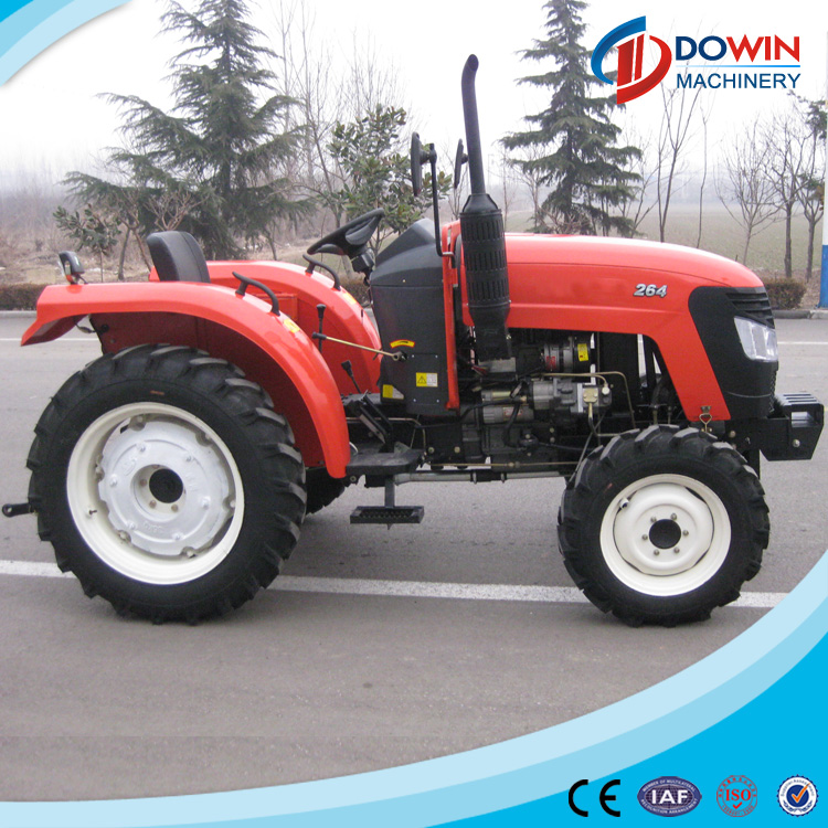 Good performance 26hp 4wd tractor