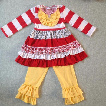 newest christmas outfit boutique children christmas deer clothing sets christmas boutique outfits