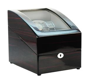 Luxury Ebony Lacquer Wood Watch Winder Automatic