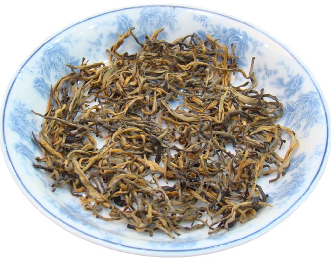 Yunnan Golden Tips black tea CE Marking low pesticide Chinese slimming tea loose leaf - 4uTea | 4uTea.com