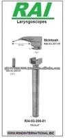 Non Fiber Optic Laryngoscope Mcintoch Blade with one Bulb