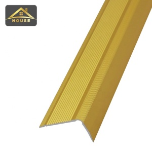 Philippines market high demand products aluminum anti slip step tile edge profile stair nosing trim